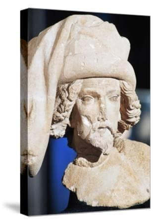 Male Bust, Royal Palace--Stretched Canvas Print