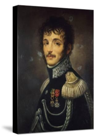 Portrait of Teodoro Lechi--Stretched Canvas Print
