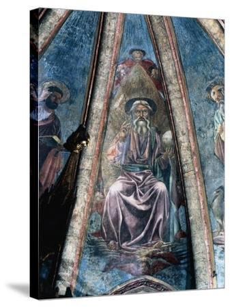 God Father, 1442-Andrea Del Castagno-Stretched Canvas Print