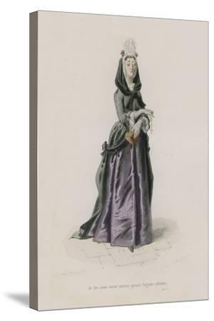 Les Femmes, Satire X-Emile Antoine Bayard-Stretched Canvas Print