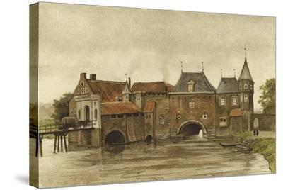 Koppelpoort, Amersfoort, Netherlands-Dutch School-Stretched Canvas Print