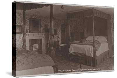 The Pickwick Room, White Horse Hotel, Ipswich--Stretched Canvas Print