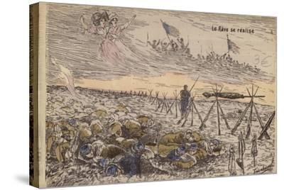 The Dream Comes True, World War I--Stretched Canvas Print