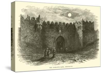 The Damascus Gate, Jerusalem--Stretched Canvas Print