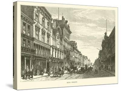 King Street--Stretched Canvas Print