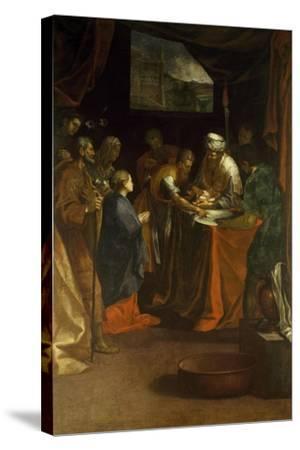 Circumcision-Federico Barocci-Stretched Canvas Print
