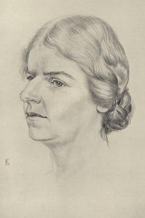 Naomi Mitchison, Scottish Novelist and Poet--Stretched Canvas Print