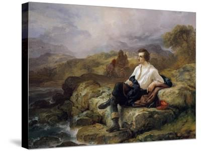Lord Byron--Stretched Canvas Print