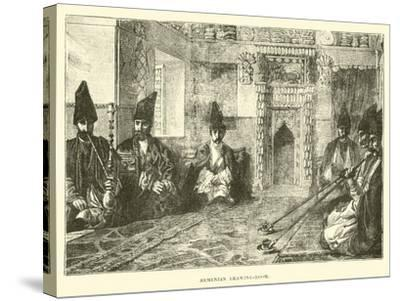 Armenian Drawing-Room--Stretched Canvas Print