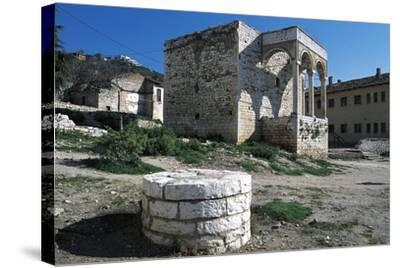 Palace Vrioni, Berat--Stretched Canvas Print
