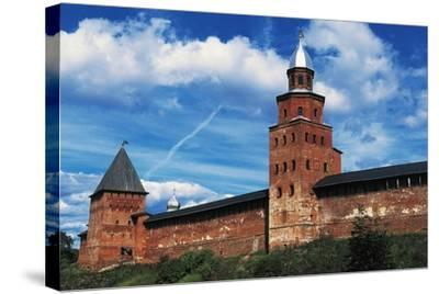 View of City Wall with Kokuj Tower--Stretched Canvas Print