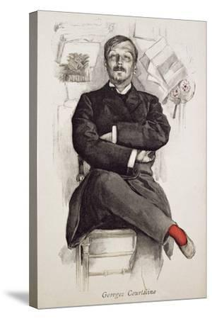 Georges Courteline--Stretched Canvas Print