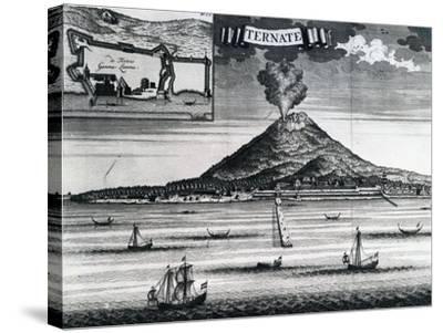 Ternate Island, Circa 1748--Stretched Canvas Print