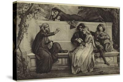 A Florentine Poet-Alexandre Cabanel-Stretched Canvas Print