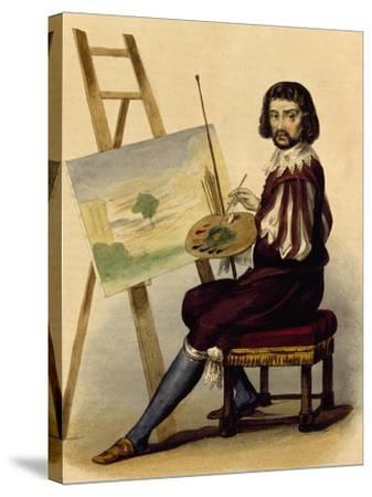 Portrait of Painter, Claude Lorrain--Stretched Canvas Print