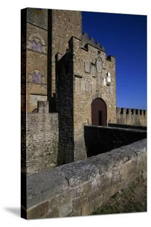 View of Castle of Counts Guidi--Stretched Canvas Print