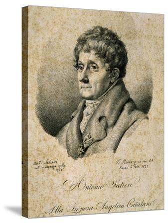 Portrait of Antonio Salieri--Stretched Canvas Print