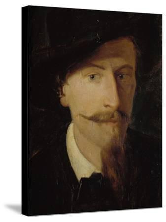 Self-Portrait-Giorgio Scherer-Stretched Canvas Print