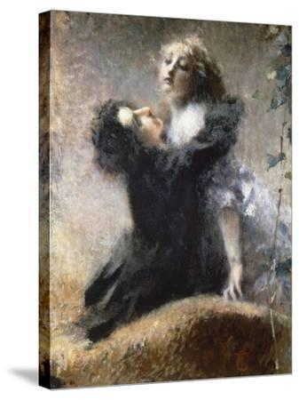 Ivy, 1878-Tranquillo Cremona-Stretched Canvas Print