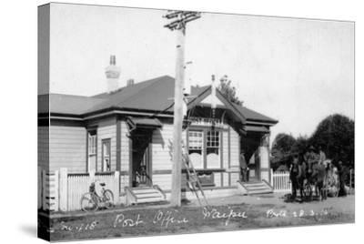 Waipu Post Office, 1910--Stretched Canvas Print