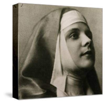 Portrait of Gilda Dalla Rizza--Stretched Canvas Print