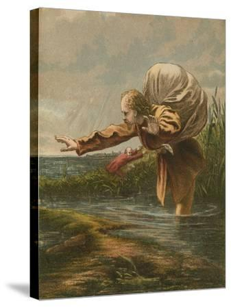 The Slough of Despond--Stretched Canvas Print