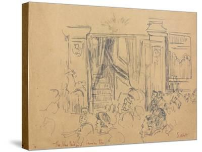 The New Bedford, Camden Town-Walter Richard Sickert-Stretched Canvas Print