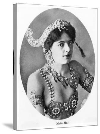 Mata Hari--Stretched Canvas Print