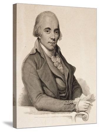 Portrait of Muzio Clementi--Stretched Canvas Print