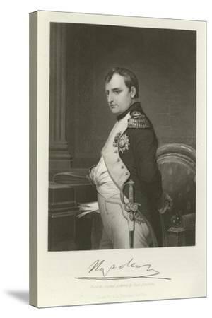 Napoleon-Hippolyte Delaroche-Stretched Canvas Print