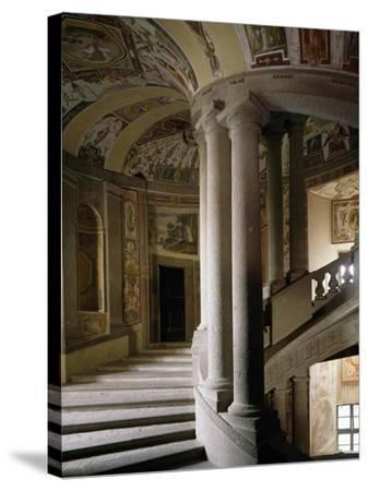 Scala Regia--Stretched Canvas Print