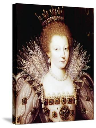 Portrait of Louise Marguerite of Lorraine--Stretched Canvas Print