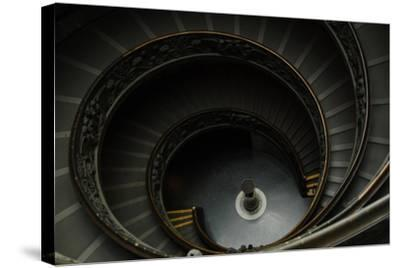 Spiral Stairs-Giuseppe Momo-Stretched Canvas Print