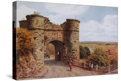 Strand Gate, Winchelsea-Alfred Robert Quinton-Stretched Canvas Print