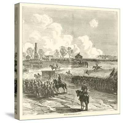 Near Chancellorsville, May 1, May 1863--Stretched Canvas Print