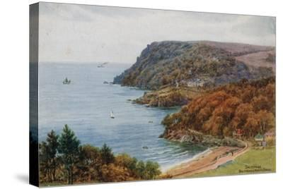 Salcombe, Bolt Head and North Sands-Alfred Robert Quinton-Stretched Canvas Print