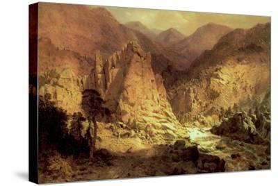 Headwaters of the Rio Grande, 1872-73-Hamilton Hamilton-Stretched Canvas Print