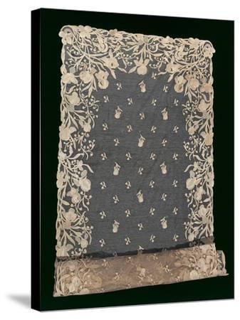 Burano Stitch--Stretched Canvas Print