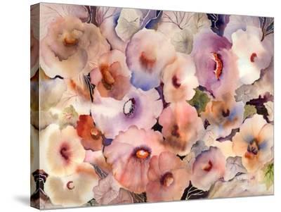 Floral Dreams-Neela Pushparaj-Stretched Canvas Print