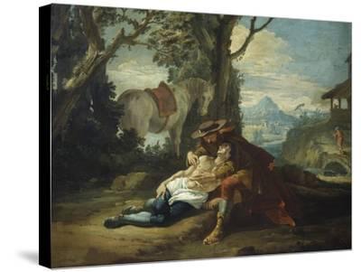 Good Samaritan-Francesco Fontebasso-Stretched Canvas Print
