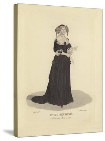 Madame De Sevigne, French Writer--Stretched Canvas Print