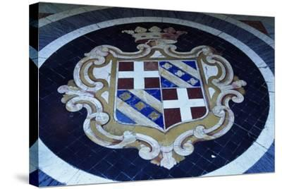 Crest in Grand Masters' Palace, Valletta--Stretched Canvas Print