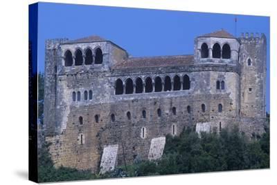 Portugal, Leiria, Leiria Castle--Stretched Canvas Print