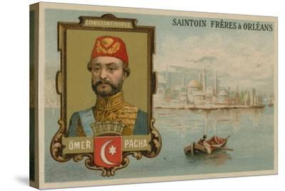 Omar Pasha, Ottoman General and Governor--Stretched Canvas Print