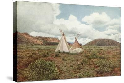 In Apache Land, Arizona--Stretched Canvas Print
