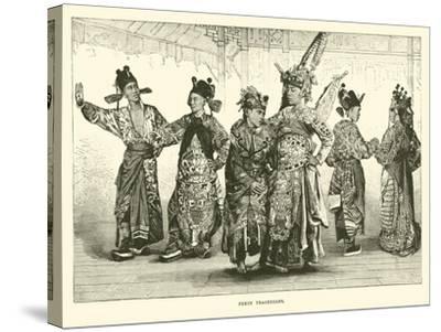 Pekin Tragedians--Stretched Canvas Print