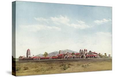 The Alvarado, Albuquerque, New Mexico--Stretched Canvas Print