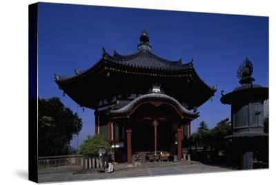 Nanen-Do Hall, from the Kofuku-Ji Complex in Nara--Stretched Canvas Print