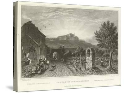 Castle of Johannesberg-William Tombleson-Stretched Canvas Print
