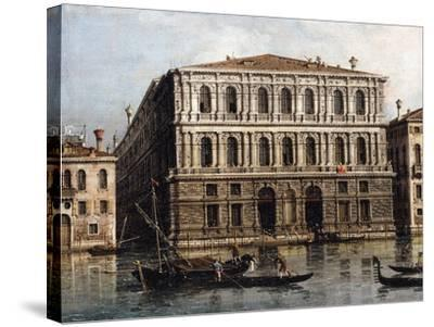 The Palazzo Pesaro from the Grand Canal, Venice--Stretched Canvas Print